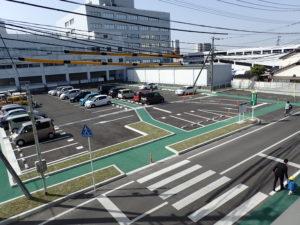 佐土 在宅生活サポートセンター 駐車場設計